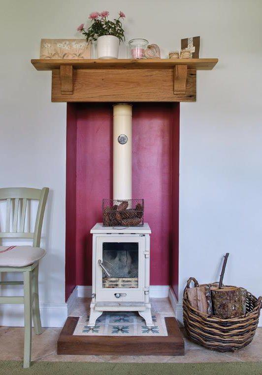 Cottage woodburner