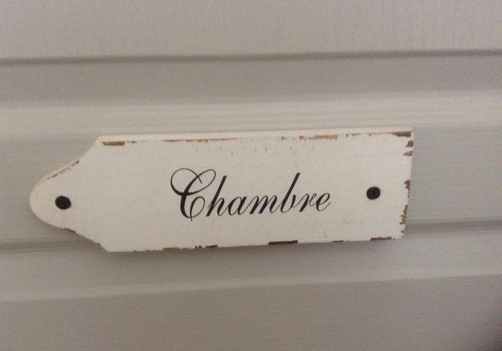 Chambre Sign
