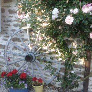 Rose Wagon Wheel
